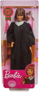 Barbie kariera lalka Sędzia brunetka