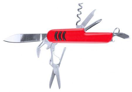 Nóż wielofunkcyjny, scyzoryk, 9 funkcji