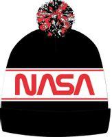 Czapka zimowa Licencja NASA (5908213351931 Red 54)