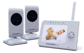 Elektroniczna Videoniania Babysense V35 z 2 kamerami