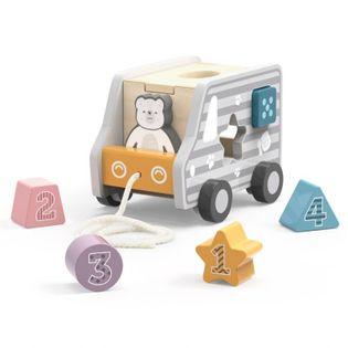 Drewniany Samochód Do Ciągnięcia Viga Toys