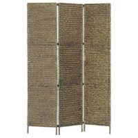 3-panelowy parawan pokojowy, brązowy 116 x 160 cm hiacynt wodny