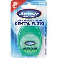 Dental Floss nić dentystyczna woskowana z fluorem Mint 100 metrów