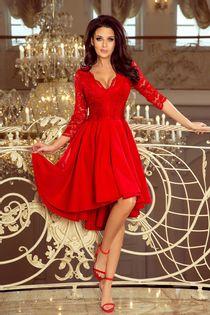 NUM 210-6 Nicole asymetryczna sukienka __42/44 24h