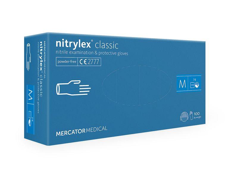 Rękawice nitrylowe fioletowe nitrylex classic M 100 szt. na Arena.pl