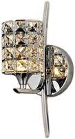 Kinkiet lampa ścienna E27 plafon żyrandol kryształ Wobako