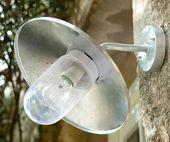 Lampa ogrodowa latarnia MARINE STEL kinkiet IP44 fr1 zdjęcie 3