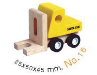 Drewniany Samochodzik wózek widłowy