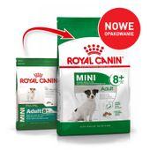 ROYAL CANIN Mini Adult +8 - 8kg | Darmowa dostawa