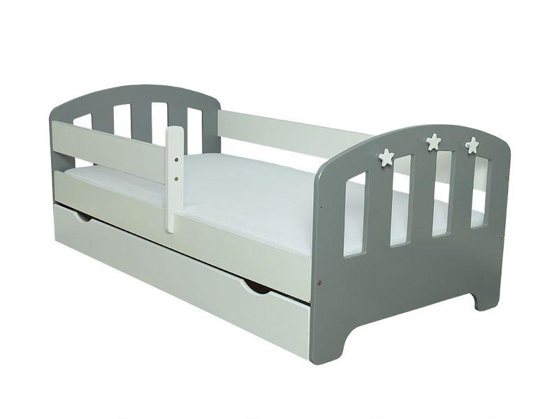 Łóżko FIFI 140x80 + szuflada + barierka zabezpieczająca + MATERAC zdjęcie 14