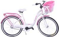 Kozbike 19 Rower miejski 26 damski damka 3biegi ALUMINIUM +kosz