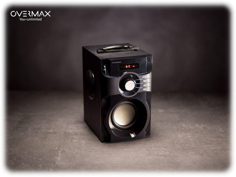OVERMAX Soundbeat 2.0 - Głośnik Bluetooth USB SD AUX Radio PRZENOŚNY zdjęcie 4