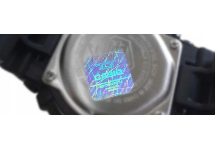 Zegarek  CASIO A168WG-9EF złoty, hologram zdjęcie 2