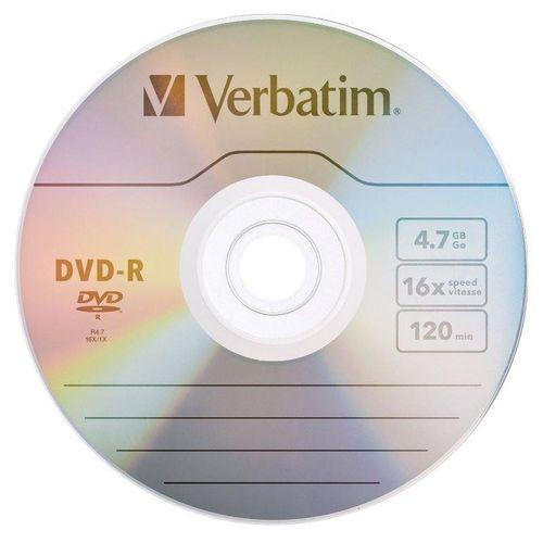 DVD-R VERBATIM 4.7GB luz na Arena.pl