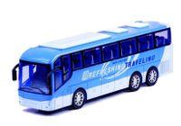 Autobus Turystyczny Autko Zabawka Niebieski