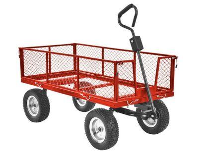 Hecht 53350 Przyczepa Przyczepka Wozidło Wózek Ogrodowy Do Traktorka
