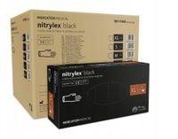 Rękawice nitrylowe nitrylex black XL  karton 10 x 100 szt