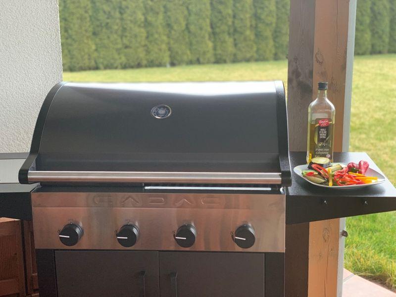 ZESTAW Grill ogrodowy CADAC ENTERTAINER - kolor Antracyt zdjęcie 12