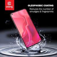 Crong 7D Nano Flexible Glass - Szkło hybrydowe 9H na cały ekran Xiaomi Mi 10 Lite