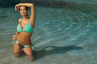 Kostium Kąpielowy Roxie Cubano-Seafoam Glow M-326 Mięta Z Czekoladą (102) Rozmiar S