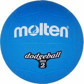 Piłka gumowa Molten DB2-B dodgeball size 2