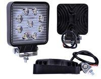 Lampa robocza halogen 9 LED 27W 12-24V FLOOD