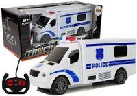 Auto Zdalnie Sterowane R/c Policja Dźwięk Światła 27 Mhz