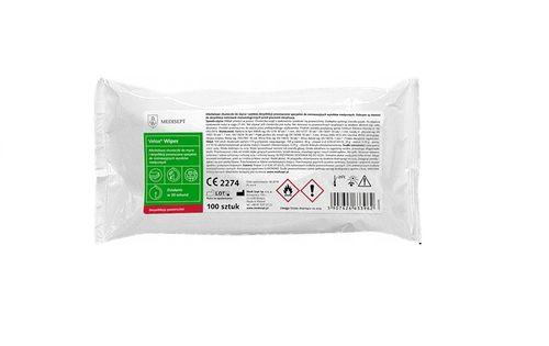 Velox Wipes alkoholowe chusteczki do dezynfekcj wkład 100szt. Medisept