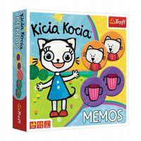 MEMOS Kicia Kocia Gra Pamięciowa TREFL 01894