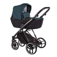 Wózek dziecięcy wielofunkcyjny La Rosa Baby Merc zestaw 2w1  zielony