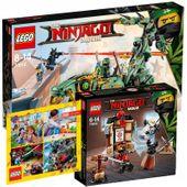LEGO NINJAGO 70612 SMOK + 70606 SZKOLENIE + KATAOG