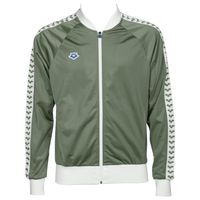 ARENA BLUZA ROZPINANA MAN RELAX IV TEAM JACKET ICONS ARMY-WHITE S