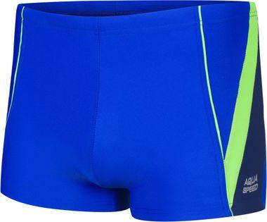 Spodenki pływackie DIEGO 140-146 Kolor - Stroje męskie - Diego - 26 - niebieski / zielony / granat, Rozmiar - Stroje dziecięce - 140
