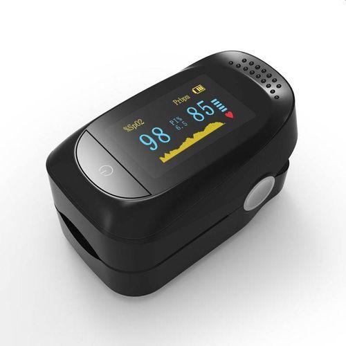 Medyczny PULSOKSYMETR napalcowy pulsometr oksymetr + PI% XP3004BK na Arena.pl