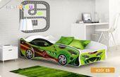 Łóżko auto CARS THUNDER 160x80