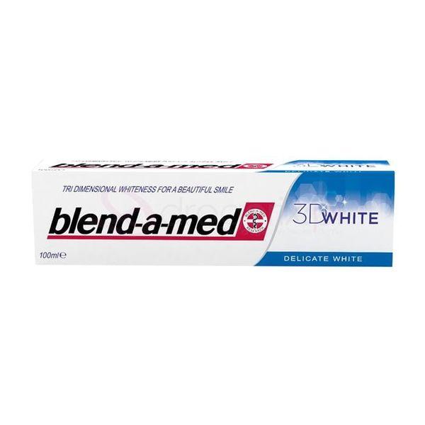 BLEND-A-MED 3D-White Delicate White 100ml - pasta do zebow na Arena.pl
