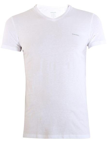 DIESEL UMTEE SHIRT JAKE V-NECK 3-PACK White/Grey/Black 00SPDM-0AALW-01 - XL zdjęcie 7