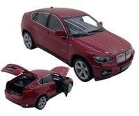 BMW X6 OTW. DRZWI MASKA BAGAŻNIK AUTO METAL WELLY 1:18