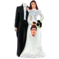 FIGURKA na TORT rozwódka ŚLUB stroik PARA MŁODA