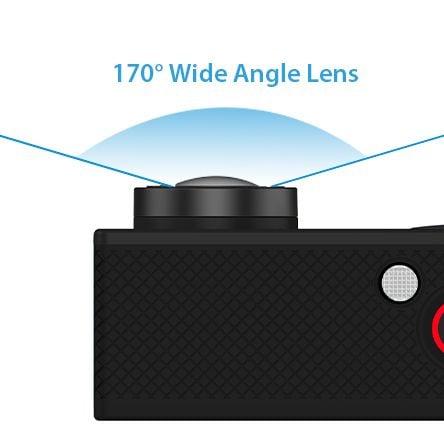 Kamera sportowa 4K Ultra HD wi-fi wodoszczelna do 30 metrów T273 zdjęcie 8
