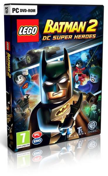Lego Batman 2 PC - PL Nowa BOX Płyta zdjęcie 1