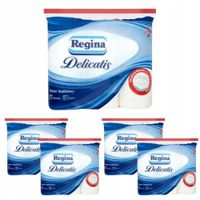 Papier toaletowy REGINA DELICATIS 4WARSTW 45 ROLEK