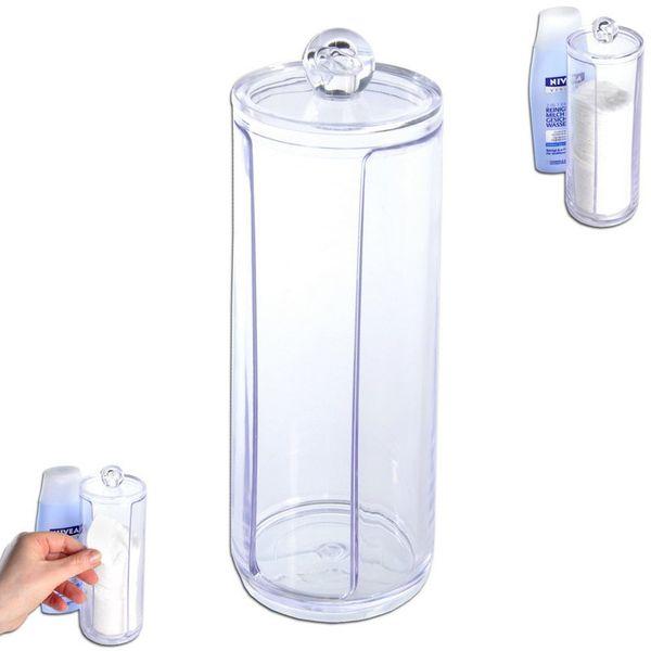 Pojemnik / podajnik na płatki kosmetyczne waciki zdjęcie 1