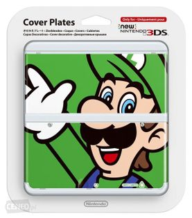 New 3DS Cover Plates (Luigi)