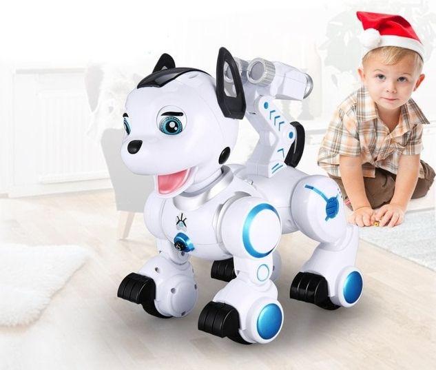 ROBOPIESEK piesek pies robot zdalnie  sterowany interaktywny  Y71 zdjęcie 7