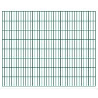Panele ogrodzeniowe 2D 2008x1630 mm 12 m zielone VidaXL