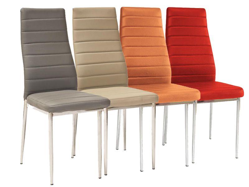 Tani Zestaw 4 Szt Krzesła H 261 Nowoczesne Do Jadalni Salonu Okazja