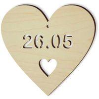drewniana zawieszka DZIEŃ MATKI 26.05, 10 cm