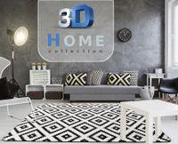 DYWAN 3D PLUSZ 200X300 DIAMOND BLACK