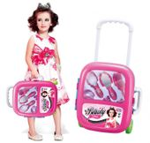 Zestaw piękności kosmetyczny dla dzieci w walizce na kółkach Y97